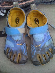 Vibram running shoes