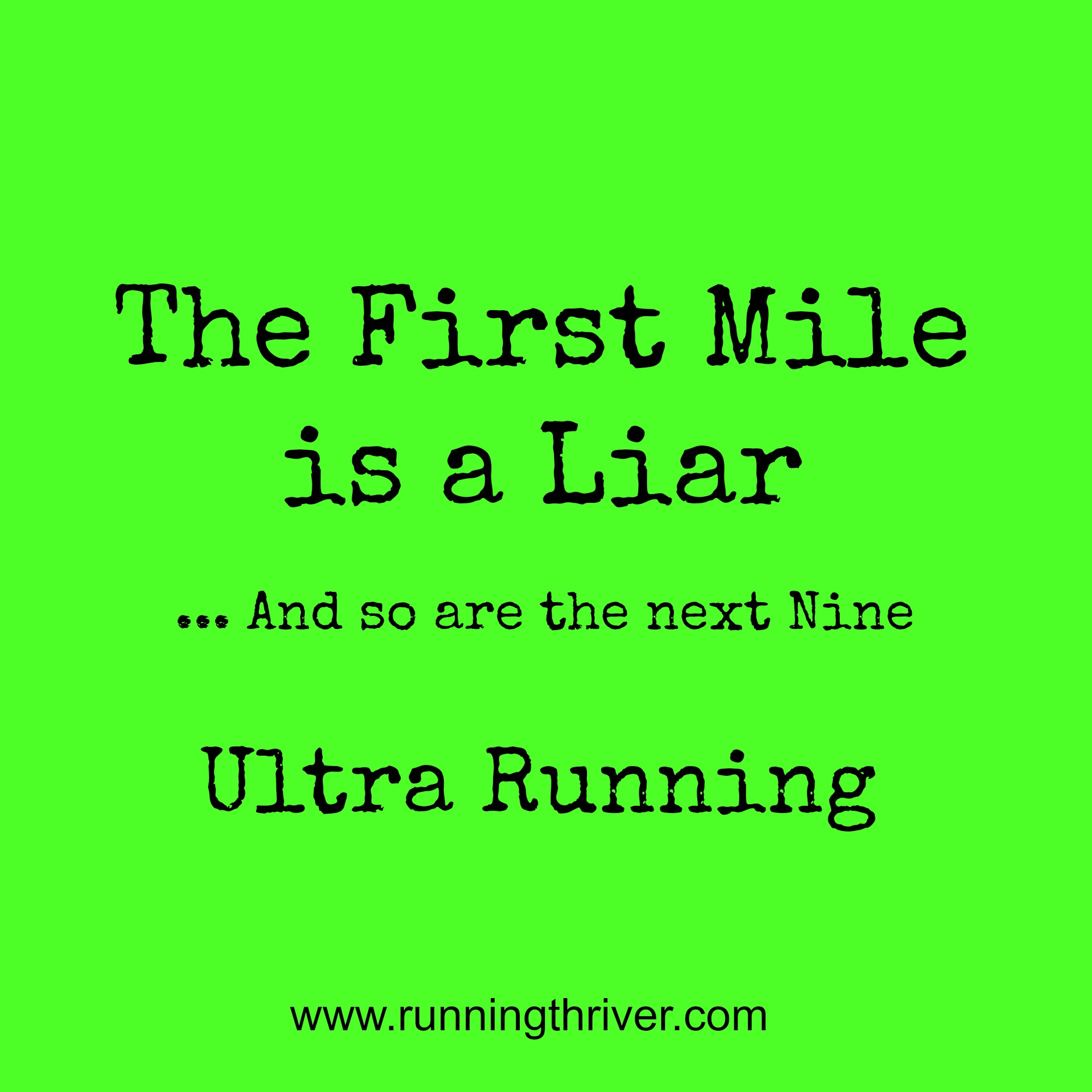 ultra running quotes